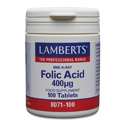 Folic Acid 400µg