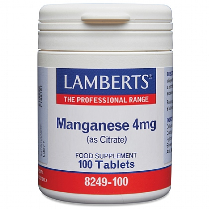 Manganese 5mg (as Citrate)