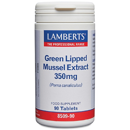 Green Lipped Mussel Extract 350mg tablets